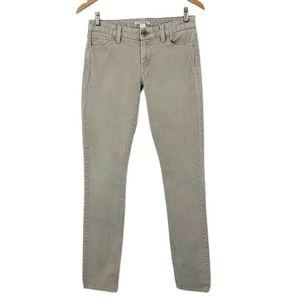 Banana Republic We Skinny Corduroy Pants Beige 27